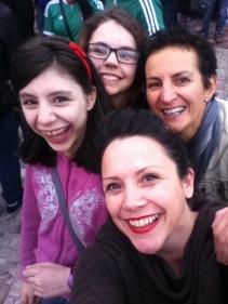 Paige, Madison, Eleni & Sharon