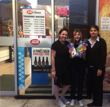 Thank you for your support IGA Thornbury