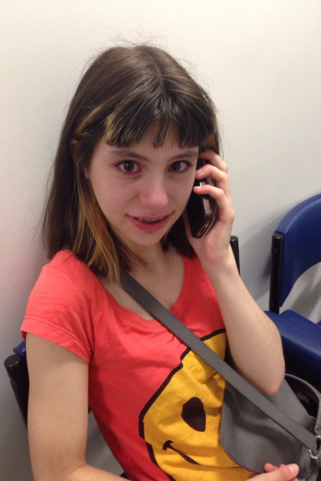 Receiving the phone call from my parents telling her they had donated $1000.